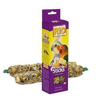 Рио Палочки с медом и орехами для средних попугаев