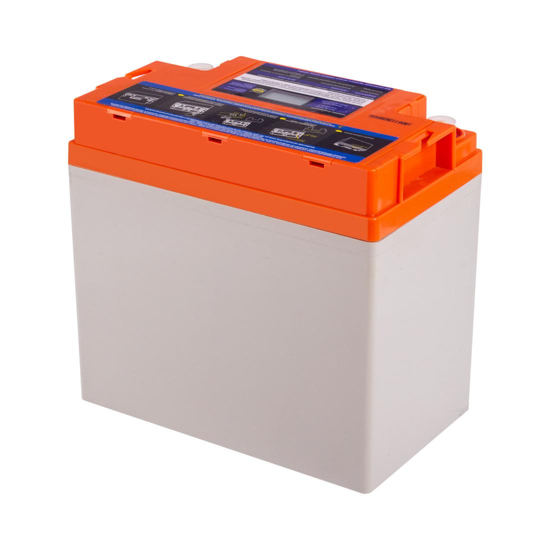 Батарея SVC GLD1255 гелевая 12В 55 Ач LED-дисплей