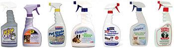 Средства от пятен/запаха и приучающие кошек