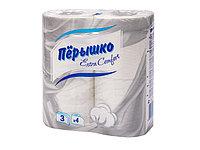Бумага туалетная ПЕРЫШКО Comfort 3-слойная