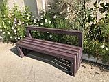 Скамейка уличная, лавочка для сада, фото 3