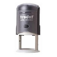 Оснастка для печати, оттиск D=42 мм, синий, TRODAT 4642 PRINTY 4.0, корп.серый, крышка, подушка