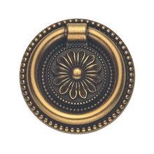 Ручка-кольцо, 'Louis XVI' D39мм, золото Валенсия., кругл. накл., винт, 12350Z03900.07