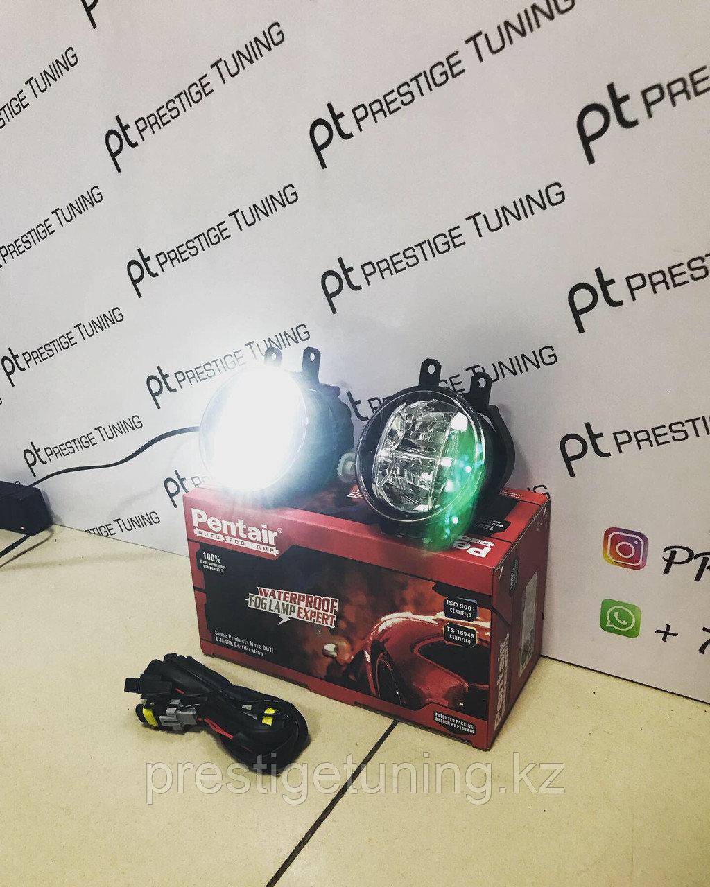 LED противотуманки на Toyota/Lexus