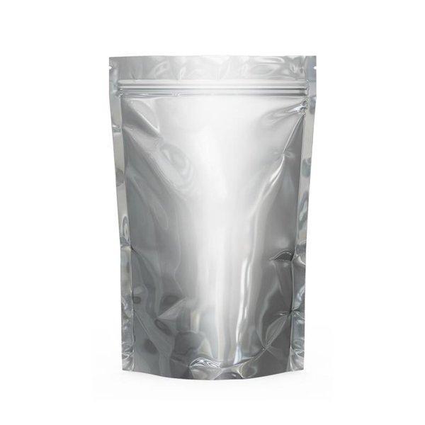 """Пакет металлизированный """"Дой-пак""""160х240+(45+45)мм,с ЗИП замком,без окна, 50 шт"""