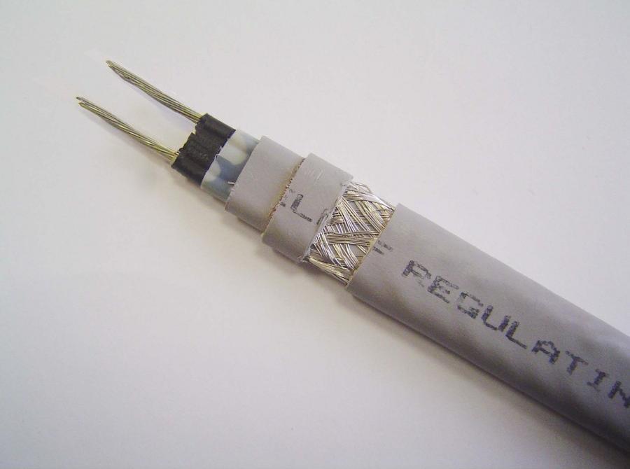 Саморегулирующийся греющий кабель SRL 16-2 CR с УФ