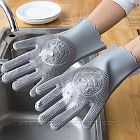 Универсальные перчатки для уборки и мытья посуды., фото 3