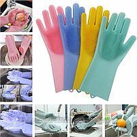 Универсальные перчатки для уборки и мытья посуды., фото 5
