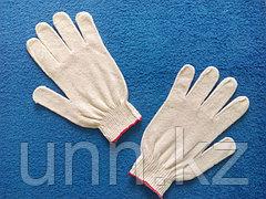 Перчатки белые (Оранжевая полоска)