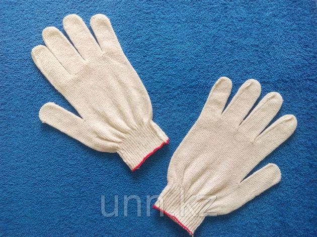 Перчатки белые (Оранжевая полоска), фото 2