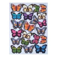 Наклейка пластик 'Парк бабочек' МИКС 31х21 см