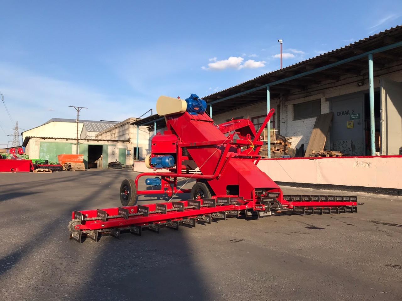 Зернометатель,зернозагрузчик ЗМСН-150 21м