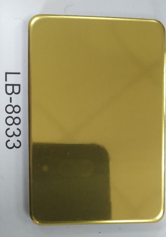 Алюкобонд LUXBOND Золото ЗЕРКАЛО 3 (28мкр), фото 2