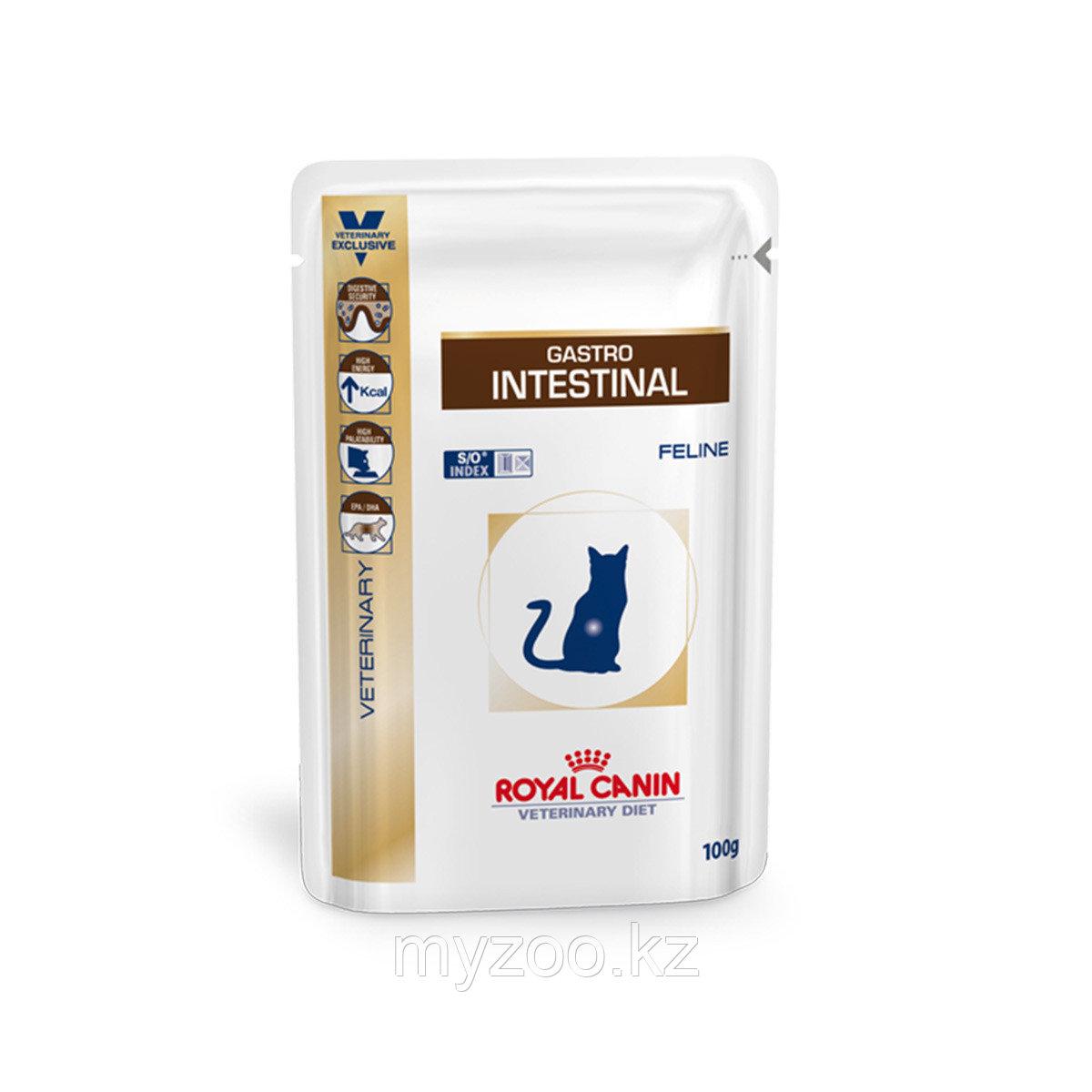 Корм для кошек с проблемным пищеварением Royal Canin GASTRO INTESTINAL CAT 1*85 g