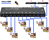 Сплиттер HDMI 2x8 SX-SP148-HD3D, фото 4