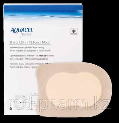 Аквасель Фоум с силиконовым адгезивом(Aquacel Foam, adh) 19,8 х 14 см  (для пятки), фото 2