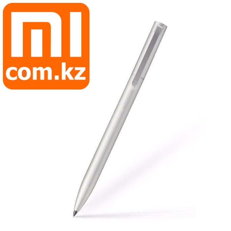 Гелевая ручка в серебристом корпусе Xiaomi Mi Gel Pen Metal, Silver, черная паста. Оригинал. Арт.5480
