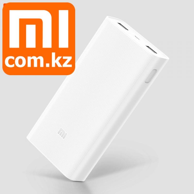 Power Bank Xiaomi Mi 20000mAh 2C, внешний аккумулятор, повербанк, внешняя зарядка. Оригинал. Арт.5507