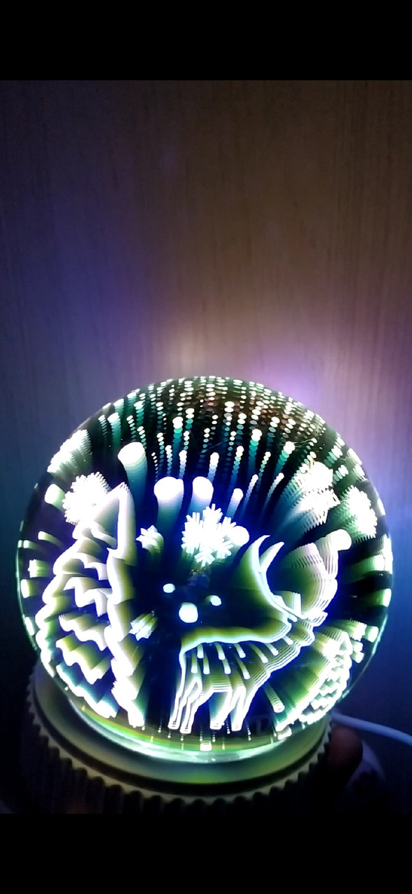 3D ночник сфера