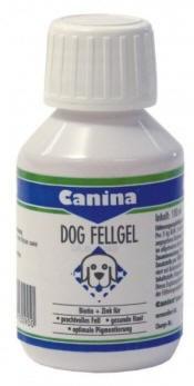 CANINA Dog Fell Gel, Канина Дог Фельгель, препарат с биотином и цинком для собак, уп. 100 мл.