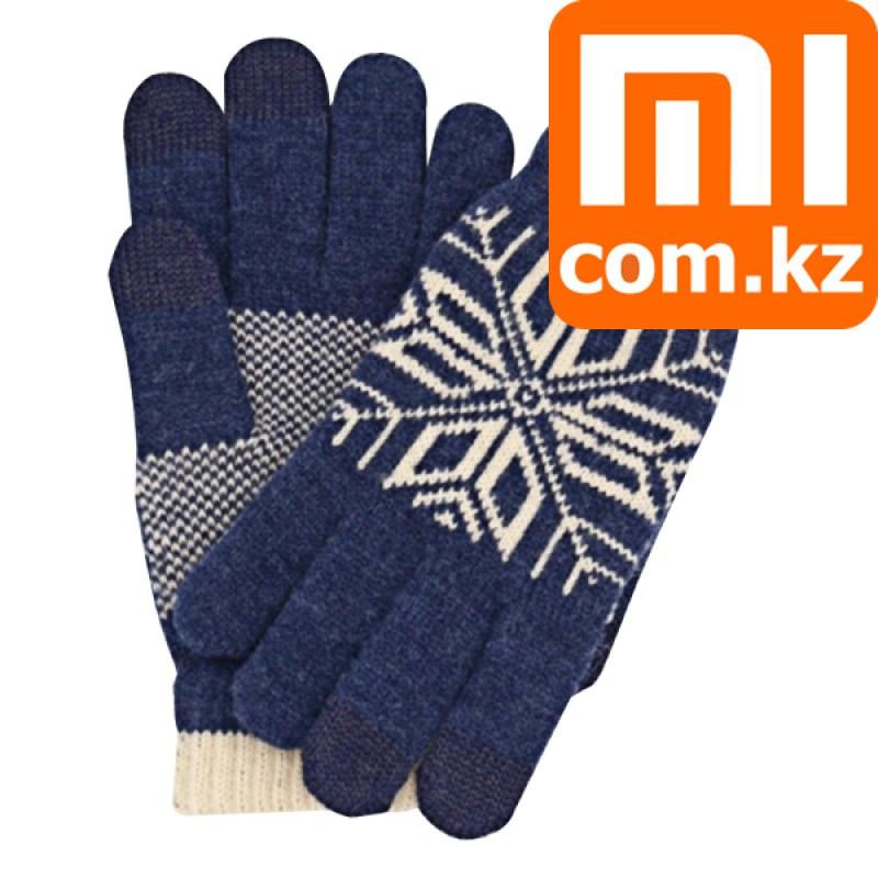 Перчатки для сенсорных экранов Xiaomi Mi Gloves, синие. Оригинал. Арт.5027