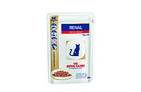 Влажный корм для кошек с болезнями почек Royal Canin RENAL BEEF CAT POUCH 1*85 g ( говядина )