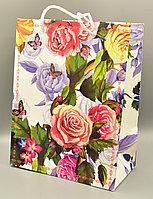 Пакет подарочный, картон, 18*23*10 см