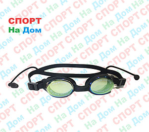 Очки для плавания Speedo (с затычками для ушей, цвет черный), фото 2