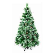 """Искусственная елка """"Новогодняя"""" 120 см с заснеженными иголками и шишками"""