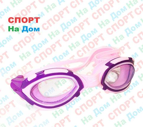 Очки для плавания Speedo (с затычками для ушей, цвет розовый), фото 2