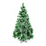 """Искусственная елка """"Новогодняя"""" 150 см с заснеженными иголками и шишками"""