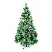 """Искусственная елка """"Новогодняя"""" 180 см с заснеженными иголками и шишками"""