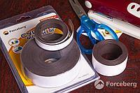 Заготовка акрилового магнита Forceberg прямоугольная 52х77 мм, прозрачная,10шт.