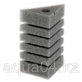 Губка треугольная запасная серая для фильтра турбо №30 (11х11х16х20 см)