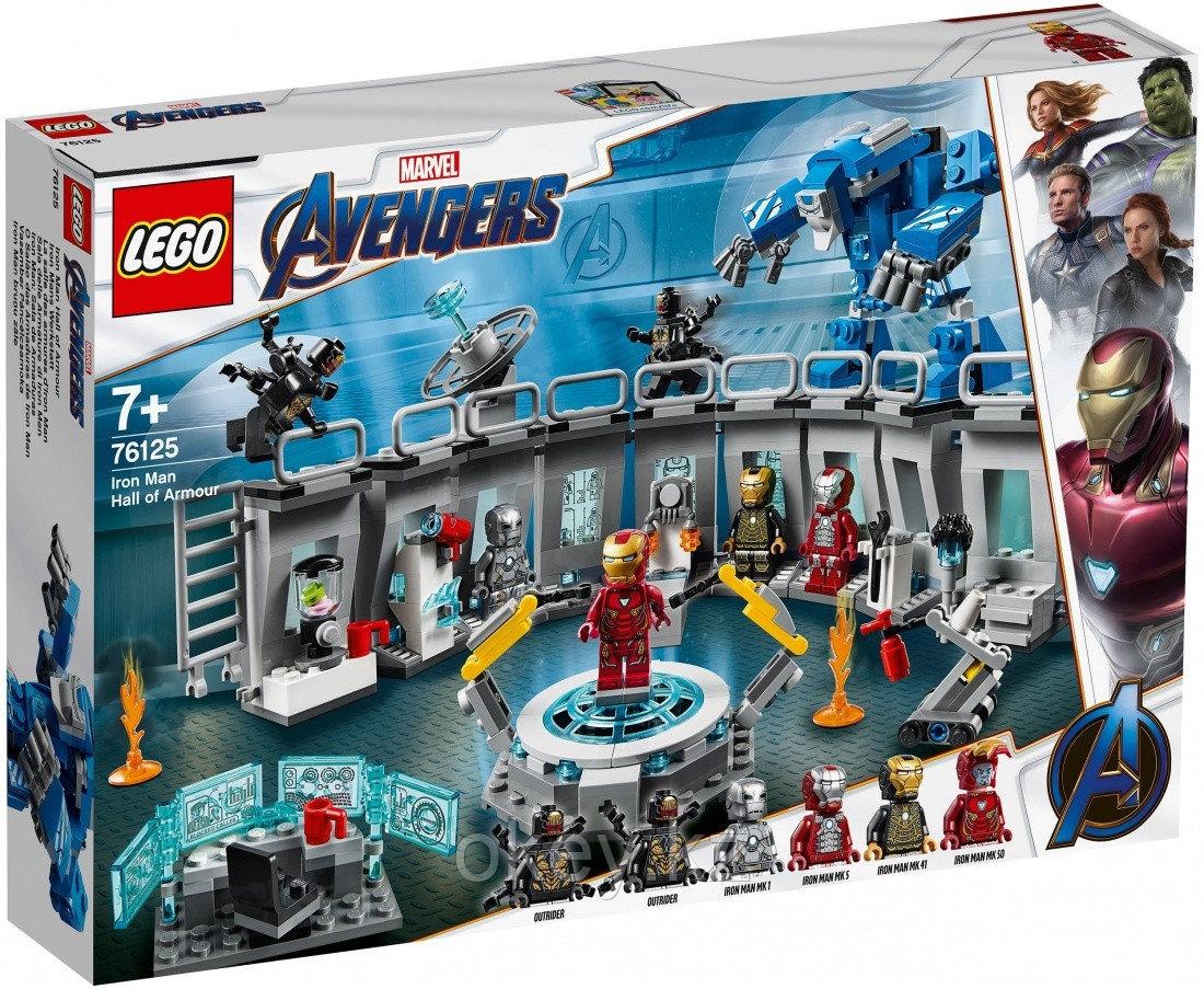 LEGO Super Heroes: Лаборатория Железного человека 76125