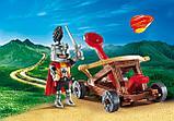 Конструктор Рыцарь с катапультой, фото 2