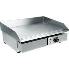 Поверхность жарочная WY-818 (550х490х240 мм, 3 кВт, 220 В, гладкая жар. поверхн., нерж. )