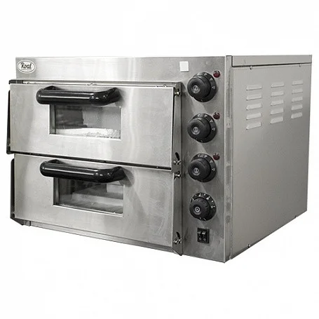 Печь для пиццы ROAL EP2PT (560х570х440мм, 2 камеры 415х400х120мм, 3 кВт. 220В)