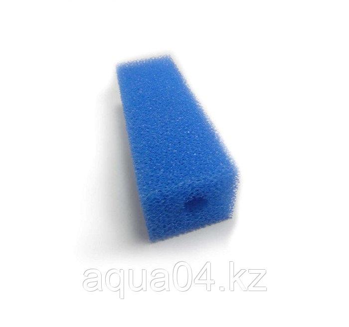 Губка прямоугольная запасная синяя для фильтра №6 (8х5х10.4 см)