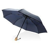 """Автоматический зонт из RPET 21"""", темно-синий, , высота 28 см., диаметр 96 см., P850.390"""