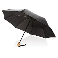 """Автоматический зонт из RPET 21"""", черный, , высота 28 см., диаметр 96 см., P850.391"""