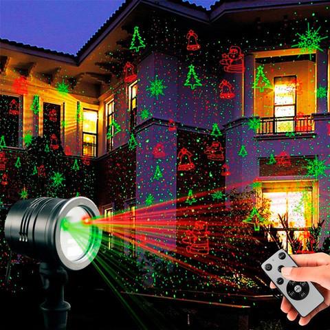 Проектор лазерный уличный с пультом д/у LASER WEDDING PARTY GARDEN HOME