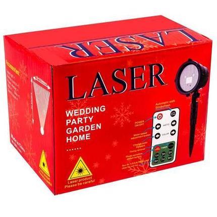 Проектор лазерный уличный с пультом д/у LASER WEDDING PARTY GARDEN HOME, фото 2