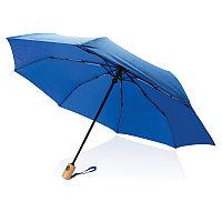 """Автоматический зонт из RPET 21"""", синий, , высота 28 см., диаметр 96 см., P850.395"""