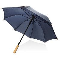 """Автоматический зонт-антишторм из RPET 23"""", темно-синий, , высота 78 см., диаметр 103 см., P850.400"""
