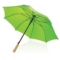 """Автоматический зонт-антишторм из RPET 23"""", зеленый, , высота 78 см., диаметр 103 см., P850.407"""