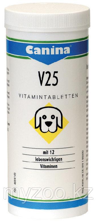 CANINA V25 Tabletten, Канина В25, витаминные таблетки, 100g (30 табл.)