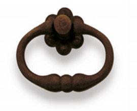 Ручка-кольцо, 'Rustic Style' 63x52мм, ржавое железо., MG 09004.06300.27
