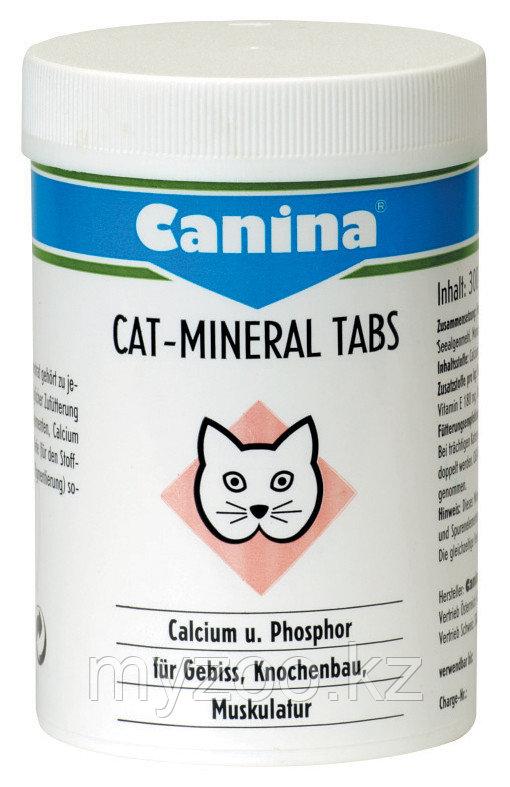 CANINA Cat-Mineral Tabs, Канина Кат Минерал Табс, минеральный комплекс, таблетки, уп. 75g (150табл)