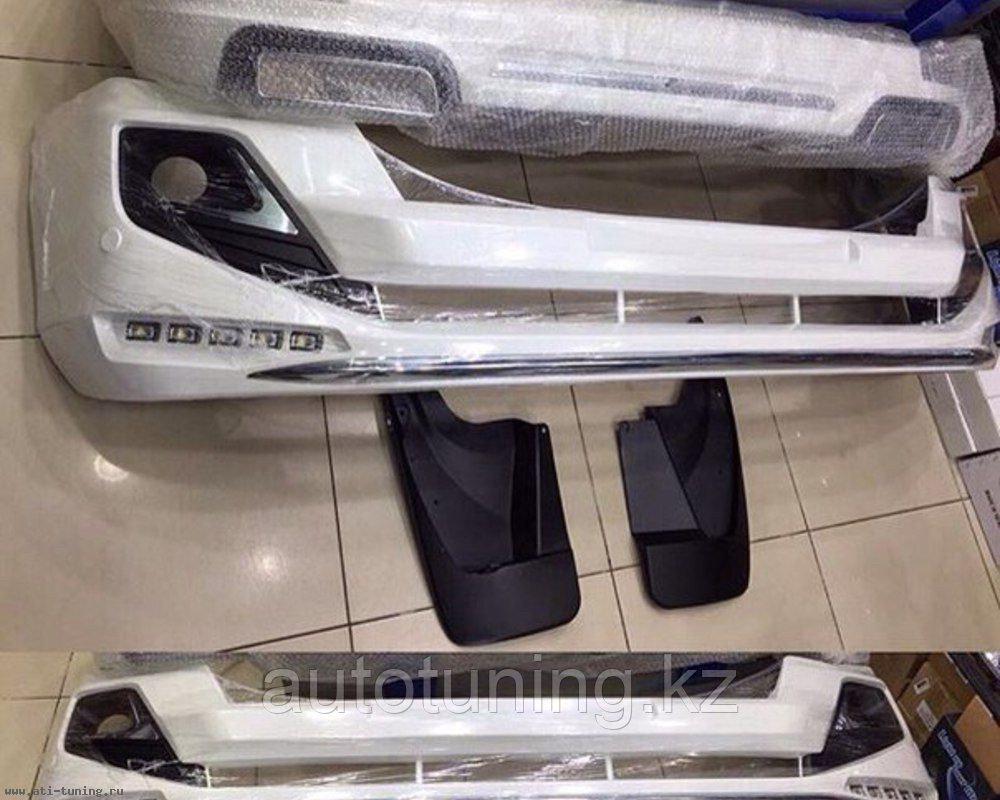 Аэродинамический обвес Modellista на Toyota Land Cruiser Prado 2013-2017